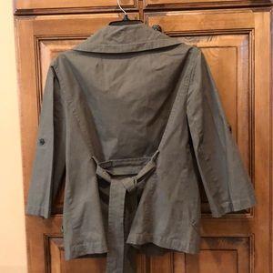 Ann Taylor - olive jacket